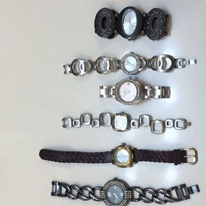 Lot of 6 ladies watches